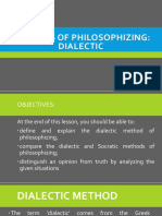 Day6 MethodsofPhilosophizing Dialectic