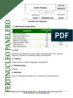Ficha Tecnica Fertinucleo Panelero