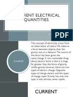 Different Electrical Quantities