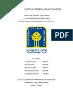 Makalah Creative Accounting and Tax Planning