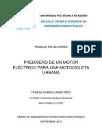 Prediseño de un motor electrico
