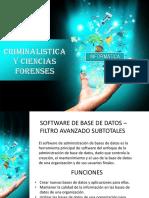 Software de Base de Datos