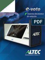 Sistema electronico de Votacion