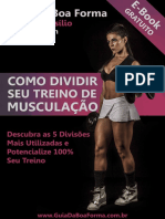 Como Dividir Seu Treino de Musculação E-book