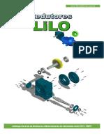 Catalogo Lilo Redutores Linha Erv e Emrv