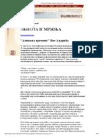[Projekat Rastko] Dragan Stojanovic_ Lepota i Mrznja