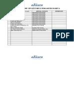 Form Daftar Tamu Vip Cpp