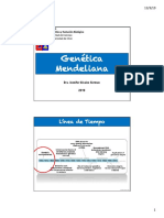 Clase 1, Genética Mendeliana