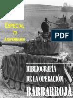 127936010 Especial Bibliografia Barbarroja de La Guerra PDF