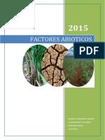 FACTORES Abioticos Informe 1