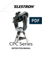 Celestron CPC Series Telescope Instruction Manual