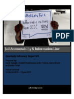 JAIL Hotline - Quarterly Advocacy Report #2