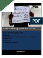 JAIL Hotline - Quarterly Advocacy Report #2