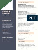 gwyneth donahue final resume