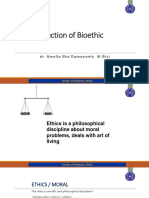 Introduction to Bioethics