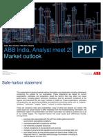 ABB Analyst Meet 2013