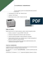 Manual de Impresoras y termo impresoras