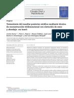 Tratamiento Del Maxilar Posterior Atrófico Mediante Técnicade Reconstrucción Tridimensional Con Elevación de Seno y Abordaje en Tunel