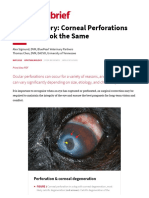 Image Gallery- Corneal Perforations Donât All Look the Same | Clinician's Brief