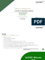 Descriptive Statistics - Xlstat