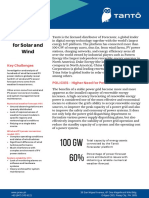 Tantô Forecaster for Solar and Wind Handout