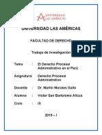 Derecho Procesal Administrativo - Trabajo Final