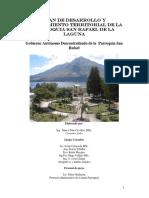 Plan de Desarrollo y Ordenamiento Territorial de La Parroquia San Rafael de La Laguna