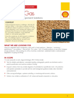 Sand Management Call for Solutions About