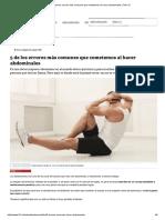 5 de los errores más comunes que cometemos al hacer abdominales _ Tele 13.pdf