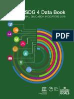 SDG 4 Data Book GLOBAL EDUCATION INDICATORS 2018