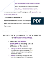Of Thyroid and Antithyroid Drugs- Part II