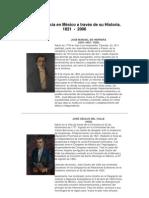 Cancilleres Mexico Historia