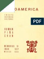 PIÑA CHAN, R. 1960. Mesoamérica. Ensayo Histórico Cultural