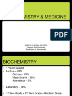 Lec 1 - Biochemistry and Medicine