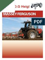 Hydraulic Draft Sensing Control Plunger Boot Massey Ferguson 1080 1085 133 135