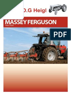 62218 Massey Ferguson Decal Triangular Massey Ferguson Large PACK OF 1