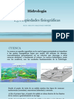 PROPIEDADES FISIOGRAFICAS HIDROLOGICAS