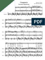 Guapparia - Trio Chit e Voce - PARTITURA