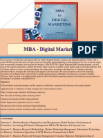 MBA - Digital Marketing