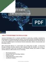 SYNEVERSE Automation Presentation