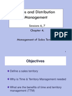 Ch 4. Management of Sales Territories -1.ppt
