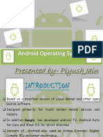 ANDROID operating system ppt