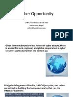 Cyber Opportunity