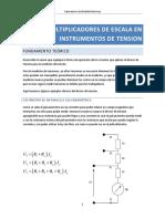 Multiplicadores de Escala en Instrumentos de Tension