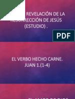 Poder y revelacion de la resurrecion de Jesus