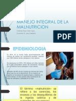 Manejo Integral de La Malnutricion Expo
