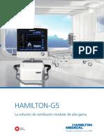 HAMILTON G5 Brochure Es 689252.03
