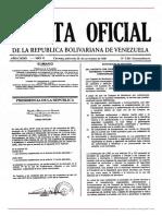 GO 5561 DRVF Ley de Los Cuerpos de Bomberos y Bomberas y Administración de Emergencias de Carácter Civil
