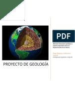 Proyecto geología