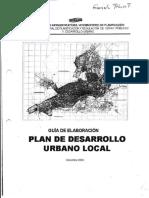 Guia de elaboracion del PDUL